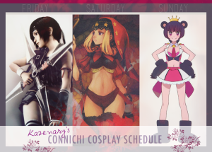 Connichi Cosplay Schedule 2015